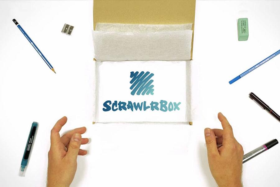 scrawlrbox Product Shot