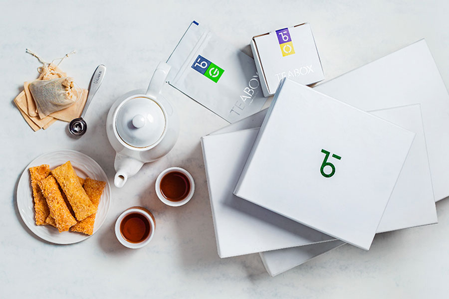 teabox Product Shot